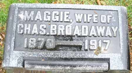 BROADAWAY, MAGGIE - Montgomery County, Ohio | MAGGIE BROADAWAY - Ohio Gravestone Photos