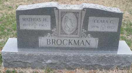 BROCKMAN, MATHIAS H. - Montgomery County, Ohio | MATHIAS H. BROCKMAN - Ohio Gravestone Photos