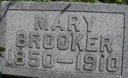BROOKER, MARY - Montgomery County, Ohio | MARY BROOKER - Ohio Gravestone Photos