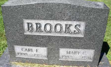 BROOKS, CARL F. - Montgomery County, Ohio | CARL F. BROOKS - Ohio Gravestone Photos