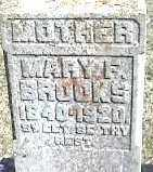 BROOKS, MARY - Montgomery County, Ohio | MARY BROOKS - Ohio Gravestone Photos
