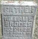 BROOKS, WILLIAM - Montgomery County, Ohio | WILLIAM BROOKS - Ohio Gravestone Photos