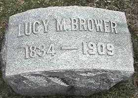 BROWER, LUCY M. - Montgomery County, Ohio | LUCY M. BROWER - Ohio Gravestone Photos