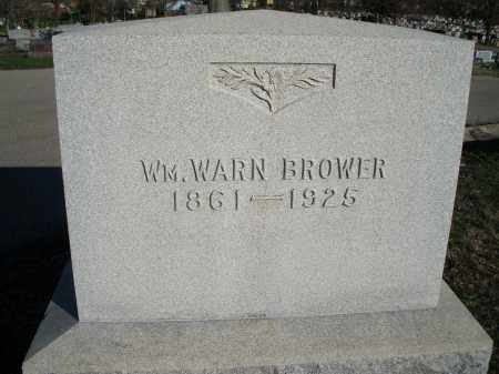 BROWER, WM. WARN - Montgomery County, Ohio | WM. WARN BROWER - Ohio Gravestone Photos