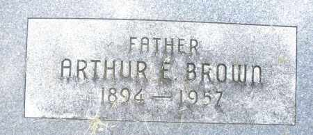 BROWN, ARTHUR E. - Montgomery County, Ohio | ARTHUR E. BROWN - Ohio Gravestone Photos