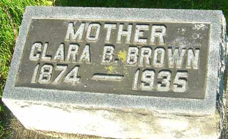 BROWN, CLARA BELL - Montgomery County, Ohio | CLARA BELL BROWN - Ohio Gravestone Photos