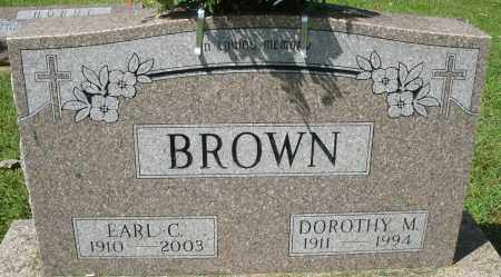 BROWN, EARL C. - Montgomery County, Ohio | EARL C. BROWN - Ohio Gravestone Photos