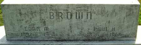 BROWN, EDNA M - Montgomery County, Ohio | EDNA M BROWN - Ohio Gravestone Photos