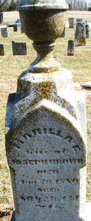 BROWN, MARILLA - Montgomery County, Ohio | MARILLA BROWN - Ohio Gravestone Photos