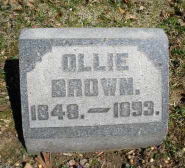 BROWN, OLLIE - Montgomery County, Ohio | OLLIE BROWN - Ohio Gravestone Photos