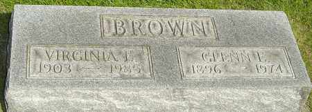 BROWN, GLENN E - Montgomery County, Ohio | GLENN E BROWN - Ohio Gravestone Photos
