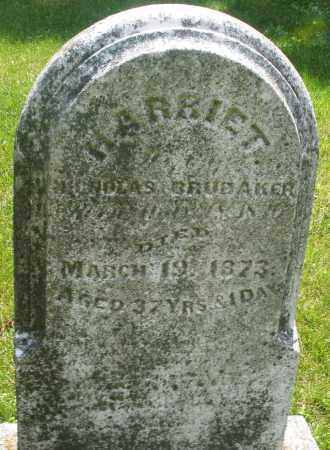BRUBAKER, HARRIET - Montgomery County, Ohio | HARRIET BRUBAKER - Ohio Gravestone Photos