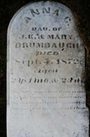 BRUMBAUGH, ANNA C. - Montgomery County, Ohio | ANNA C. BRUMBAUGH - Ohio Gravestone Photos