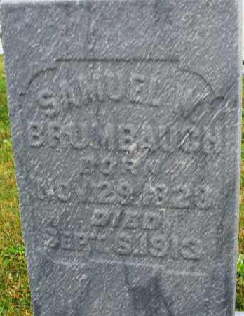 BRUMBAUGH, SAMUEL W. - Montgomery County, Ohio | SAMUEL W. BRUMBAUGH - Ohio Gravestone Photos