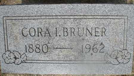 BRUNER, CORA I. - Montgomery County, Ohio | CORA I. BRUNER - Ohio Gravestone Photos