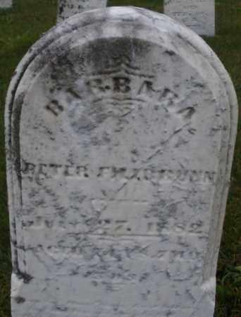 BRUNN, BARBARA - Montgomery County, Ohio   BARBARA BRUNN - Ohio Gravestone Photos
