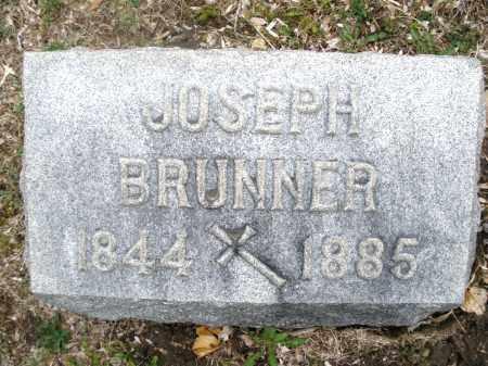BRUNNER, JOSEPH - Montgomery County, Ohio | JOSEPH BRUNNER - Ohio Gravestone Photos