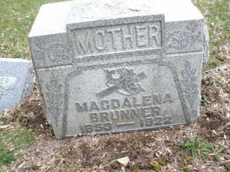 BRUNNER, MAGDELENA - Montgomery County, Ohio | MAGDELENA BRUNNER - Ohio Gravestone Photos
