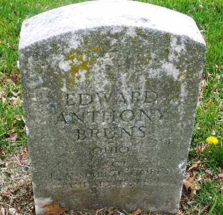 BRUNS, EDWARD  ANTHONY - Montgomery County, Ohio | EDWARD  ANTHONY BRUNS - Ohio Gravestone Photos