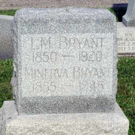 BRYANT, LUTHER M. - Montgomery County, Ohio | LUTHER M. BRYANT - Ohio Gravestone Photos