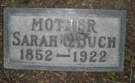 BUCH, SARAH C. - Montgomery County, Ohio | SARAH C. BUCH - Ohio Gravestone Photos