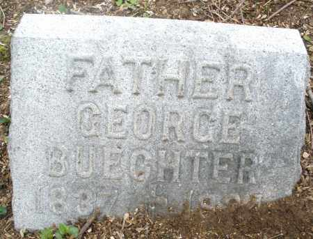 BUECHTER, GEORGE - Montgomery County, Ohio | GEORGE BUECHTER - Ohio Gravestone Photos
