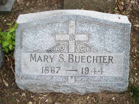 BUECHTER, MARY S. - Montgomery County, Ohio | MARY S. BUECHTER - Ohio Gravestone Photos