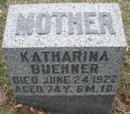 BUEHNER, KATHARINA - Montgomery County, Ohio | KATHARINA BUEHNER - Ohio Gravestone Photos