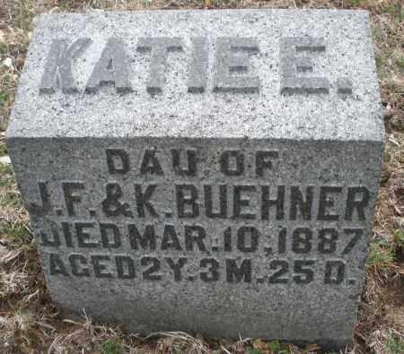 BUEHNER, KATIE E. - Montgomery County, Ohio | KATIE E. BUEHNER - Ohio Gravestone Photos
