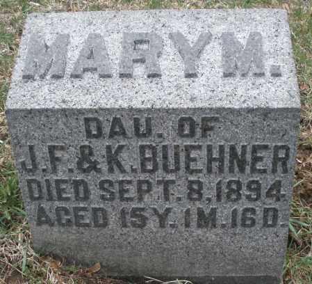 BUEHNER, MARY M. - Montgomery County, Ohio | MARY M. BUEHNER - Ohio Gravestone Photos