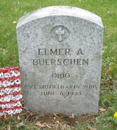 BUERSCHEN, ELMER A. - Montgomery County, Ohio | ELMER A. BUERSCHEN - Ohio Gravestone Photos