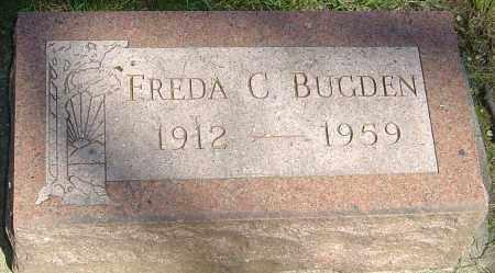 BUGDEN, FREDA CATHERINE - Montgomery County, Ohio | FREDA CATHERINE BUGDEN - Ohio Gravestone Photos