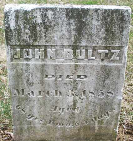 BULTZ, JOHN - Montgomery County, Ohio | JOHN BULTZ - Ohio Gravestone Photos