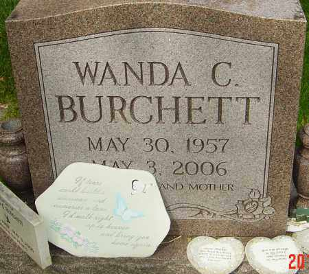 BURCHETT, WANDA C - Montgomery County, Ohio | WANDA C BURCHETT - Ohio Gravestone Photos