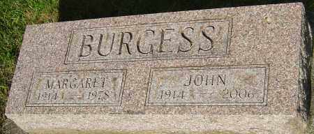 BURGESS, MARGARET - Montgomery County, Ohio | MARGARET BURGESS - Ohio Gravestone Photos