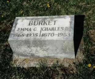 BURKET, EMMA C. - Montgomery County, Ohio | EMMA C. BURKET - Ohio Gravestone Photos