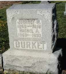 BURKET, JOHNNEY M. - Montgomery County, Ohio | JOHNNEY M. BURKET - Ohio Gravestone Photos