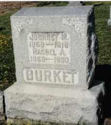 BURKET, RACHEL A. - Montgomery County, Ohio | RACHEL A. BURKET - Ohio Gravestone Photos