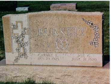 BURKETT, CARMEL E. - Montgomery County, Ohio | CARMEL E. BURKETT - Ohio Gravestone Photos