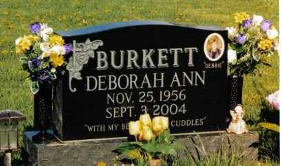 BURKETT, DEBORAH ANN - Montgomery County, Ohio | DEBORAH ANN BURKETT - Ohio Gravestone Photos