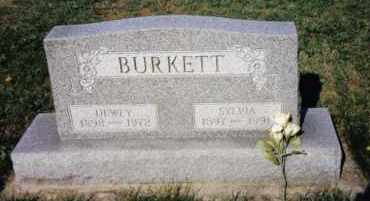 BURKETT, SYLVIA - Montgomery County, Ohio | SYLVIA BURKETT - Ohio Gravestone Photos