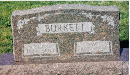 BURKETT, EVA - Montgomery County, Ohio | EVA BURKETT - Ohio Gravestone Photos
