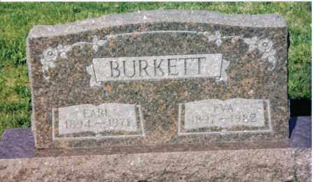 BURKETT, EARL - Montgomery County, Ohio | EARL BURKETT - Ohio Gravestone Photos