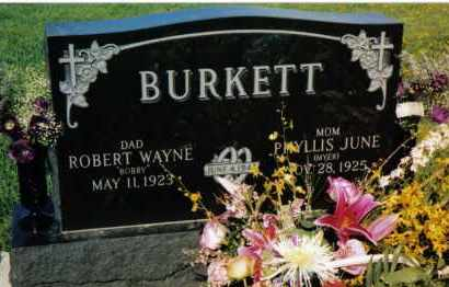 BURKETT, PHYLLIS JUNE - Montgomery County, Ohio | PHYLLIS JUNE BURKETT - Ohio Gravestone Photos