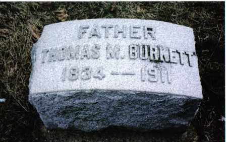 BURKETT, THOMAS M. - Montgomery County, Ohio | THOMAS M. BURKETT - Ohio Gravestone Photos