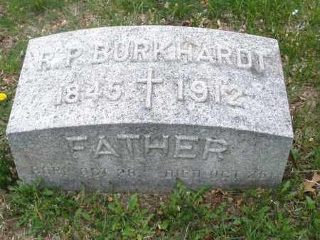 BURKHARDT, R.P. - Montgomery County, Ohio | R.P. BURKHARDT - Ohio Gravestone Photos
