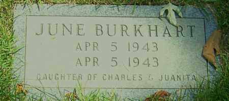 BURKHART, JUNE - Montgomery County, Ohio | JUNE BURKHART - Ohio Gravestone Photos
