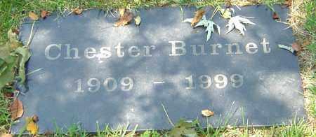 BURNET, CHESTER - Montgomery County, Ohio | CHESTER BURNET - Ohio Gravestone Photos