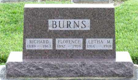 BURNS, RICHARD - Montgomery County, Ohio | RICHARD BURNS - Ohio Gravestone Photos