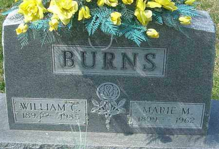 BURNS, MARIE M - Montgomery County, Ohio | MARIE M BURNS - Ohio Gravestone Photos